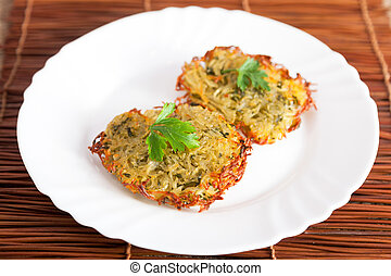 Rosti - Swiss dish consisting of potatoes
