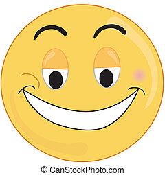 rosto feliz
