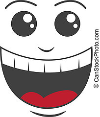 rosto, feliz