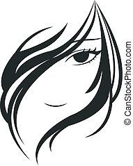 rosto mulher