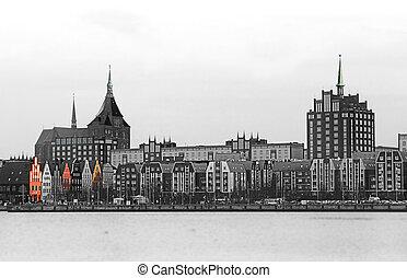Rostock - Schwarz-wei? aufnahme