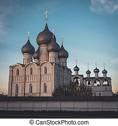 Rostov Kremlin. Rostov, Yaroslavl oblast, Russia