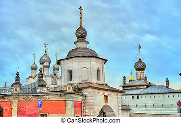 Rostov Kremlin, the Golden Ring of Russia