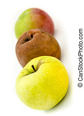 rot, appeltjes