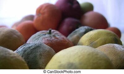 rot, fruit