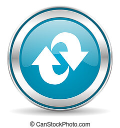 rotação, ícone