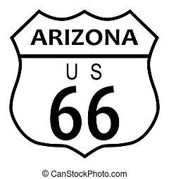 rota 66, arizona
