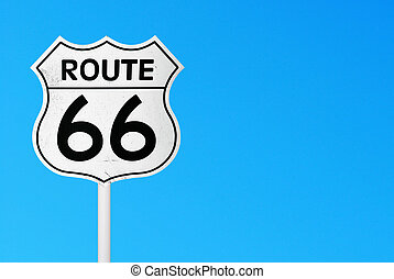 rota 66, sinal