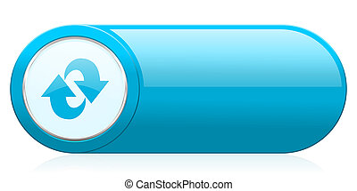 rotación, icono, refrescar, señal