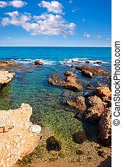 rotas,  denia, méditerranéen,  Alicante, plage, espagne,  las