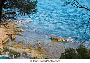 rotas,  denia, méditerranéen,  Alicante, mer,  las