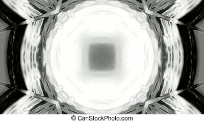rotate deep black tunnel hole, light wire, cosmos swirl hole, nuclear fission.