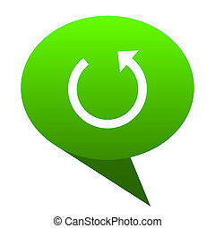 rotate green bubble icon