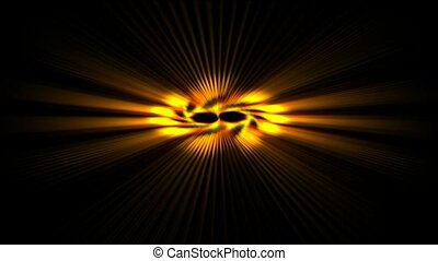 rotate power rays laser energy