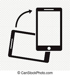 Rotate Smartphone icon