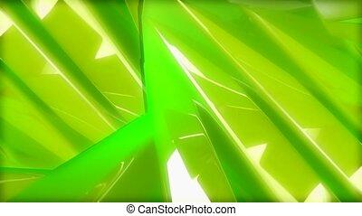 rotate, wave, green,