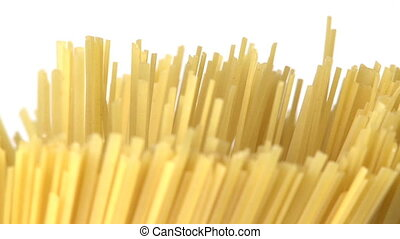 Rotated macaroni   - Pasta background closeup