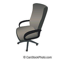 rotating arm chair