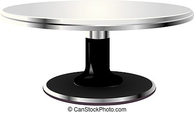 Rotating Cake Decorating Stand - Empty stand for making...