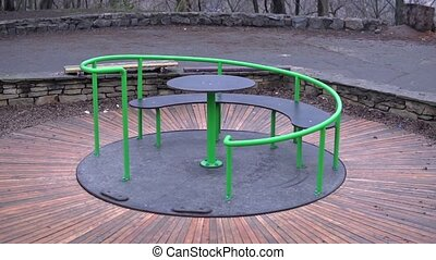 Rotating carousel children - Rotating in the form of a...