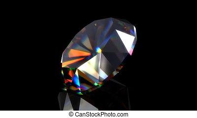 Rotating diamond, loopable