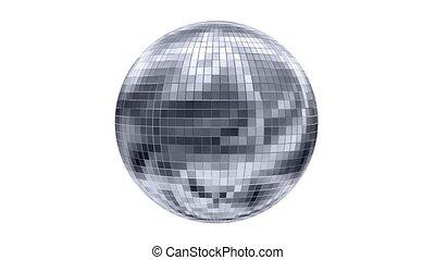 Rotating disco ball, animation