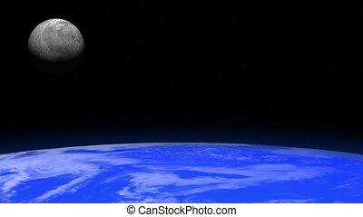 Rotating Earth and Moon