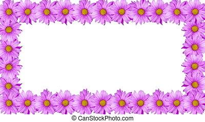 Rotating Flower Border