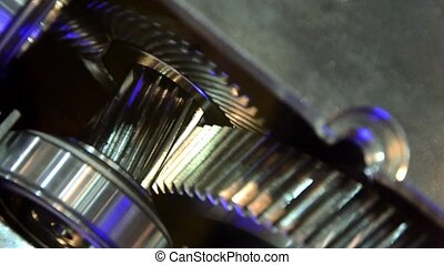 rotating gears