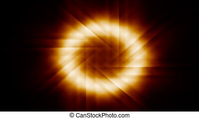 rotating glowing ring