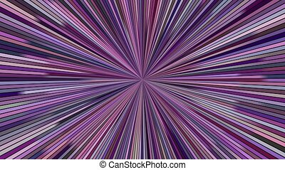 Rotating hypnotic burst stripes - seamless loop motion...