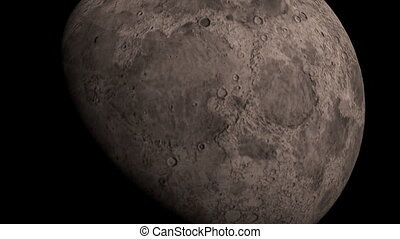 Rotating Moon in a dark universe. - Rotating Moon in a dark...