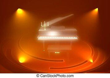 Rotating Piano