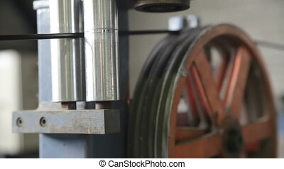 Rotating rollers in production - Rotating rollers and...