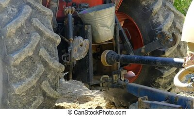 Rotating shaft tractor videos