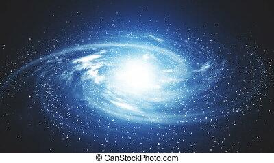Space galaxy a birth a new beautiful stars galaxy,rainbow,time