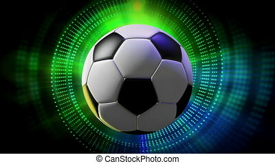 Rotating Sport Balls