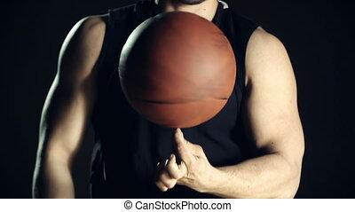 rotation, balle
