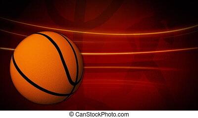 rotation, basket-ball, animation
