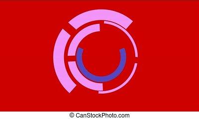rotation computer circles interface