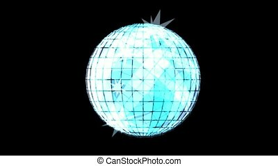 rotation disco mirror ball