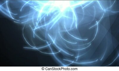 rotation fiber optic,waves rays lig