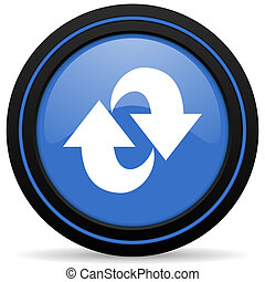 rotation icon refresh sign