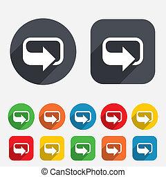 Rotation icon. Repeat symbol. Refresh sign.