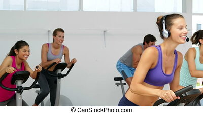 rotation, le, studio, classe, fitness