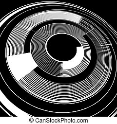 rotation., spirale