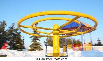 Rotation to round-robins on baby playground