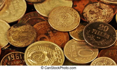 rotatory coins loop - the loopable rotation of many...