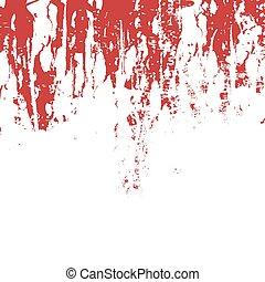 roter grunge, hintergrund, gewebe