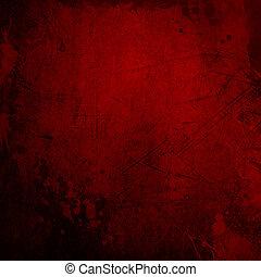 roter grunge, hintergrund